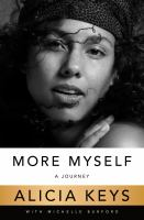 Cover image for More myself : a journey