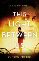 Cover image for This light between us : a novel of World War II