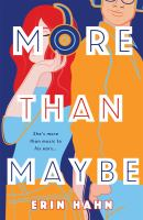 Cover image for More than maybe