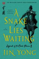 Cover image for A snake lies waiting