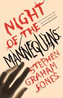 Cover image for Night of the mannequins