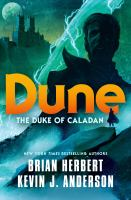 Cover image for The Duke of Caladan