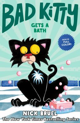 Cover image for Bad Kitty gets a bath
