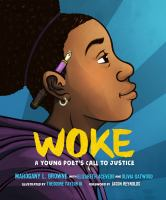 Cover image for Woke A young poet's call to justice.
