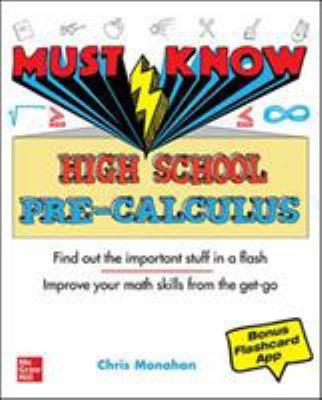 Imagen de portada para Must know high school pre-calculus