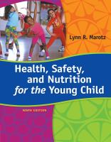 Cover image for Health, safety, and nutrition for the young child