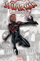 Cover image for Spider-Man Spider-Verse Miles Morales
