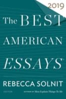 Cover image for The best American essays 2019