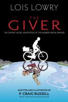 Cover image for The giver (graphic novel)