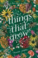 Cover image for Things that grow