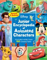 Cover image for Disney junior encyclopedia of animated characters.