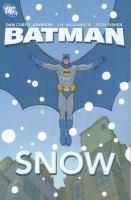 Cover image for Batman : snow