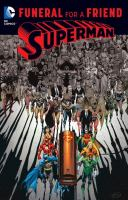 Cover image for Superman : funeral for a friend