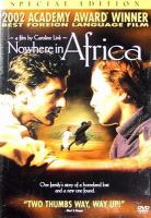 Cover image for Nowhere in Africa Nirgendwo in Afrika