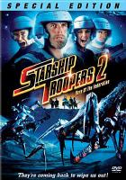 Cover image for Starship troopers 2 hero of the federation