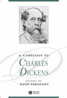 Cover image for A companion to Charles Dickens