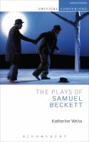 Cover image for The plays of Samuel Beckett