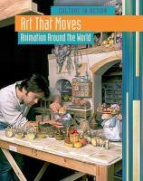 Cover image for Art that moves : animation around the world