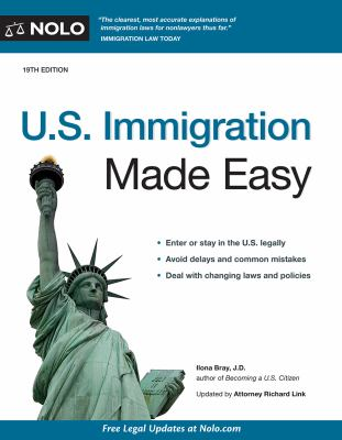 Cover image for U.S. immigration made easy.