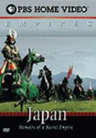 Cover image for Japan memoirs of a secret empire