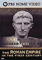 Cover image for The Roman Empire in the first century