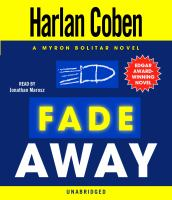 Cover image for Fade away 3rd in the Myron Bolitar series