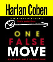 Cover image for One false move 5th in the Myron Bolitar series