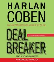 Cover image for Deal breaker 1st in the Myron Bolitar series