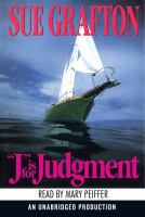 "Cover image for ""J"" is for judgment"