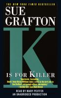 "Cover image for ""K"" is for killer"