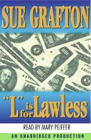 "Cover image for ""L"" is for lawless"