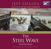 Cover image for The steel wave a novel of World War II