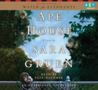 Cover image for Ape house