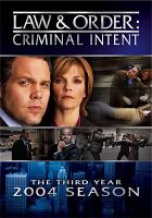 Cover image for Law & order, criminal intent The third year, 2003-2004 season