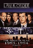 Cover image for Law & order The fourth year 1993-1994 season
