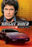 Cover image for Knight rider Season three.
