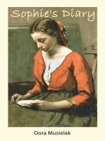 Cover image for Sophie's diary : a historical fiction