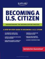 Imagen de portada para Becoming a US citizen : understanding the naturalization process.