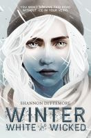 Cover image for Winter, white and wicked
