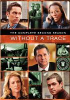 Cover image for Without a trace The complete second season