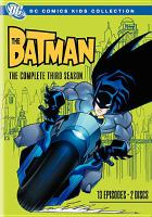 Cover image for The Batman The complete third season.