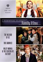 Imagen de portada para Essential classics. Family films