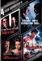 Imagen de portada para 4 film favorites. Sylvester Stallone collection