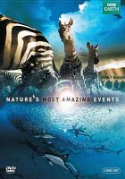 Cover image for Nature's most amazing events