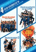 Cover image for Police academy 1-4 collection