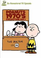 Cover image for Peanuts 1970's collection. Vol. 1