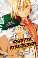 Cover image for School judgment Gakkyu hotei
