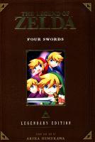 Cover image for The legend of Zelda. Four swords