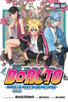 Cover image for Boruto : Naruto next generations
