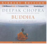 Cover image for Buddha. A story of enlightenment